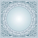 Decorative frame. Retro decorative frame, vector illustration stock illustration