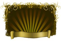 Decorative frame. Backgrounds with ornaments Stock Photos
