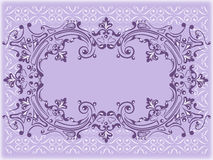 Decorative  frame, abstract ornament pattern Royalty Free Stock Image
