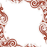 Decorative frame border Stock Photos