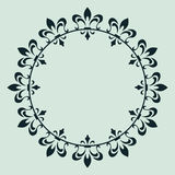 Decorative frame for design Stock Images