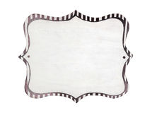Decorative frame with empty space Royalty Free Stock Image