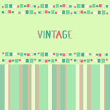 Decorative frame grunge cubes. Vector illustration. Decorative frame grunge cubes vintage. Vector illustration Royalty Free Stock Photography
