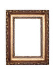 Decorative frame isolated on white Stock Photos