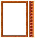 Decorative frame JPG + EPS. Vector decorative frame. This is a vector image - you can simply edit colors and shapes Royalty Free Stock Photos