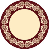 Decorative frame motif Royalty Free Stock Photos