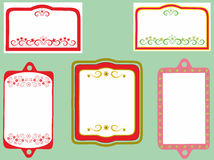 Decorative frame with pattern Royalty Free Stock Photo