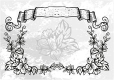 Decorative frame with pattern Stock Images