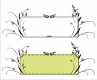 Decorative frame pattern Stock Images