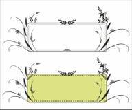 Decorative frame pattern Stock Images
