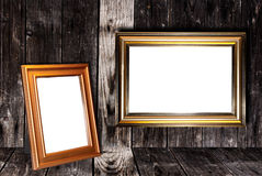 Decorative frame for a photo Stock Photos