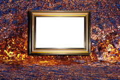 Decorative frame for a photo Royalty Free Stock Images