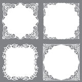 Decorative frame set Royalty Free Stock Photo
