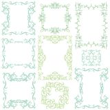 Decorative frame set III Royalty Free Stock Photo