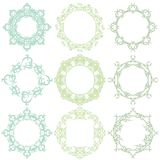 Decorative frame set IV Royalty Free Stock Photo