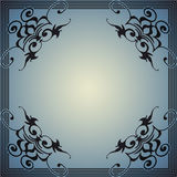 Decorative frame in the style of vintage Royalty Free Stock Photos