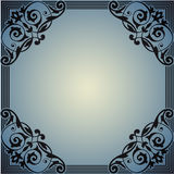 Decorative frame in the style of vintage Royalty Free Stock Images