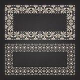 Decorative frame Stock Images
