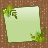 decorative frame vector Royalty Free Stock Image