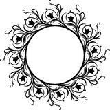 Decorative frame, vector Stock Image