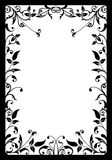 Decorative frame, vector Stock Image