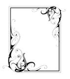 Decorative frame Stock Image