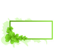 Decorative frame (vector incl) stock image