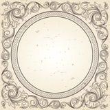 Decorative frame. Vector ornate vintage decorative frame Royalty Free Stock Images