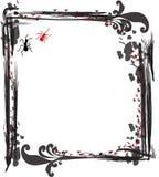 Decorative frame. Vector decorative frame on white background Stock Photography