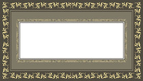 Decorative frame with vintage, elegant, floral, classic and styl Royalty Free Stock Photography