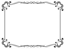 Decorative Frame With Heart Royalty Free Stock Images