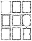 Decorative frames 02 Royalty Free Stock Image