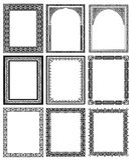 Decorative frames 03 Royalty Free Stock Image