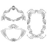 Decorative Frames Royalty Free Stock Image
