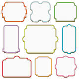 Decorative frames Stock Photos