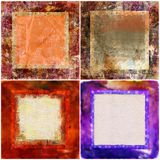 Decorative frames Stock Images