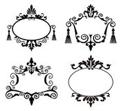 Decorative frames Stock Image