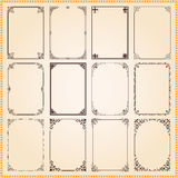 Decorative frames and borders set vector vector illustration