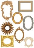Decorative Frames Collection Royalty Free Stock Images