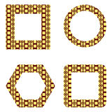 Decorative frames pack Stock Photo