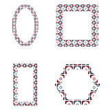 Decorative frames pack Royalty Free Stock Images