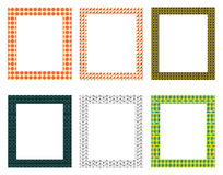 Decorative frames pack Royalty Free Stock Photo