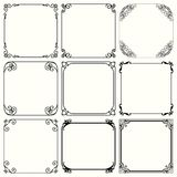 Decorative frames set 48. Available in high-resolution and several sizes to fit the needs of your project Royalty Free Stock Images