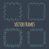 Decorative frames Royalty Free Stock Images