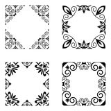 Decorative frames set Royalty Free Stock Images