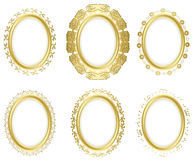 Decorative frames - vector set Royalty Free Stock Photo