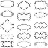 Decorative Frames Vector Collection Set Stock Photography