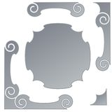 Decorative frames Stock Photography