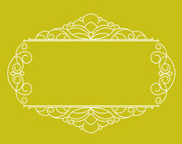 Decorative  frames .Vintage .Well built for easy editing. Stock Image