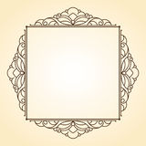 Decorative  frames .Vintage .Well built for easy editing. Royalty Free Stock Image